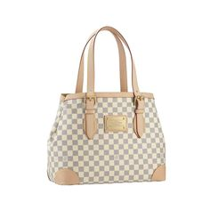 Louis Vuitton Hampstead MM White Totes Is The First Choice As A Gift For You Forever! #LouisVuittonFan