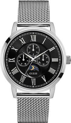 Guess W0871G1 Delancy silver watch