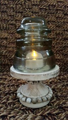 Cute little cake stand from Magnolia Market in Waco. Perfect size for displaying an insulator. Purchased the stand July 2017.