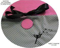 STICK♥Loop♥ DIY Pusteblume - Punkte +Button..... von ஐღKreawusel-aufgehübscht✂ஐ  auf DaWanda.com