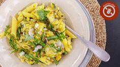 Use corn pasta to make this vegetarian dinner gluten-free