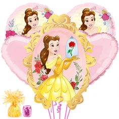 Check out Beauty & the Beast Balloon Bouquet Kit   Beauty & the Beast tableware & décor for your party from Birthday in a Box from Birthday In A Box