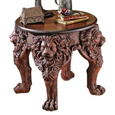 I pinned this Lord Raffles Side Table from the Zodiac: Leo event at Joss and Main!