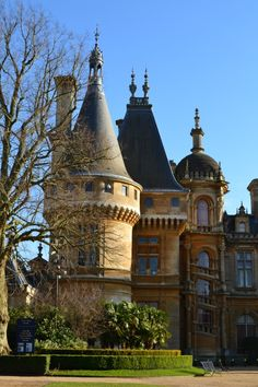 Waddesdon Manor, Buckinghamshire, England built in 1874 in the neo Renaissance French style for the Baron Ferdinand de Rothschild. It now belongs to the National Trust and is open to the public