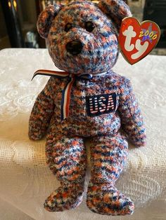 Beanie Babies Worth Money, Valuable Beanie Babies, Rare Beanie Babies, Original Beanie Babies, Beenie Babies, Beanie Baby Bears, Ty Beanie Boos, Beanie Baby Prices, Ty Babies