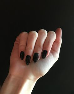 Neonail pure black  #nails