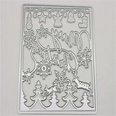 f13957c67c Tree metal Die Cutting Dies Scrapbooking Embossing Dies Cut Stencils DIY  Decorative Cards DIY album Card Paper Card Maker-in Cutting Dies from Home  & Garden ...