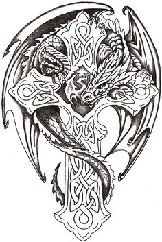 dragon_lord_celtic_by_thelob.jpg (1071×1604)