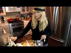 "Mimi Kirk's ""Save-the-Turkey"" Portobello Mushrooms and Cranberry Orange Relish"