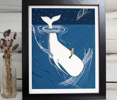 """Whimsical Illustrations by Sloe Gin Fizz.  8""""x10"""" $19.99  Repinned by Amy Marie Shadle"""