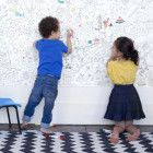 Giant colouring print by omy design & play.