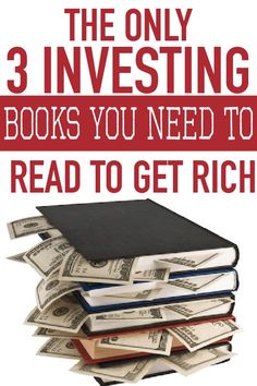 The Manifestation Millionaire - How to Become a Millionaire - The Only 3 Investment Books You Need To Read To Get Rich stock market investing for beginners Stock Market Investing, Investing In Stocks, Investing Money, Saving Money, Stock Market Books, Stock Market Quotes, How To Get Rich, How To Become, Personal Development