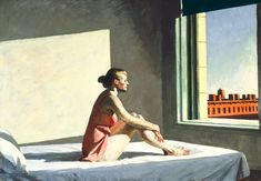 Edward Hopper - Morning Sun, 1952