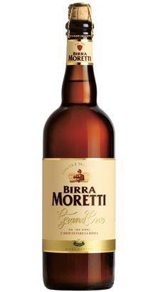 Cerveja Birra Moretti Grand Cru, estilo Belgian Pale Ale, produzida por Birra Moretti, Itália. 6.8% ABV de álcool.