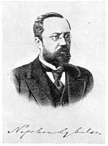 19th Century Polish endocrinologist Napoleon Cybulski, discoverer of adrenaline.