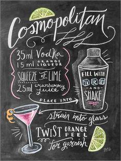 Lily & Val - Cosmopolitan Recipe
