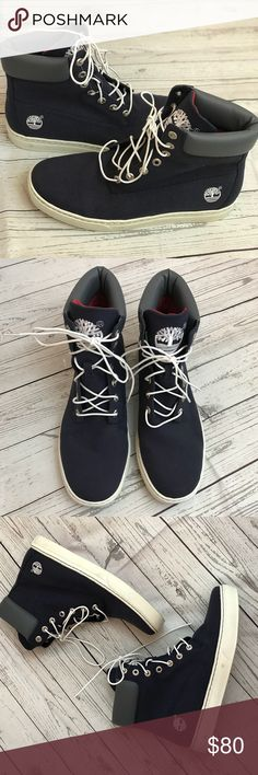 MENS Timberland Earthkeepers Blue Navy Size 10 ▪️Details: Blue Navy Earth Keepers Sneakers Timerland, NWOT, been in the closet for a while, tried on once on carpet ▪️Size: 10 ▪️Measurements: Ships from Los Angeles, CA Ships within 1-2 business days Timberland Shoes Sneakers