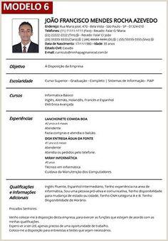 Modelos De Curriculum Vitae Para Rellenar Gratis Type of Resume and sample, modelos de curriculum vitae para rellenar gratis. You must choose the format of your resume depending on your work and pers. Curriculum Vitae Online, Curriculum Vitae Examples, Cv Words, Resume Words, Modelo Curriculum, Job Resume Samples, Types Of Resumes, Functional Resume, Fresh Image