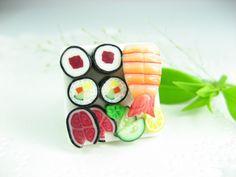 Sushi Ring. $12.00, via Etsy.