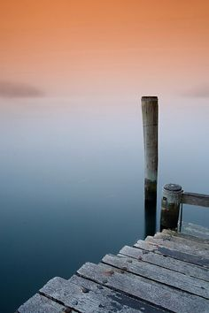 The peace of still waters