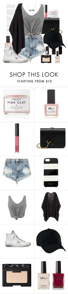 """Casual"" by seventeene ❤ liked on Polyvore featuring Herbivore, ncLA, NARS Cosmetics, Mulberry, One Teaspoon, Kate Spade, H&M, Golden Goose, contestentry and styleinsider"