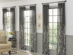 Our Arbor Springs semi-sheer curtains come in charcoal and aqua and would make a lovely addition to any room in your home! Enter our Refresh For Summer Pin To Win Sweepstakes for a chance to win a $500 Walmart Gift Card!