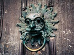The Sanctuary Knocker at Durham, UK.  Photo by TG member, Mac