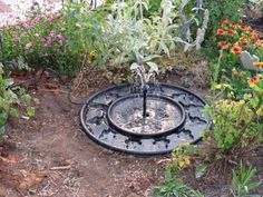 fuentes de agua jardin