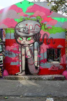 Graffiti of Seth Globepainter