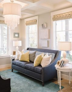 Living Room Furniture and Decor Ideas. #LivingRoom Four Chairs Furniture.