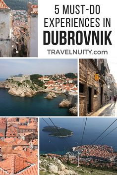 Dubrovnik in Croatia is a beautiful place to visit, with its stunning blue waters and enchanting Old Town. When you are in Dubrovnik, don't miss the following.