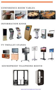 Tv Trolley, Information Kiosk, Telephone Booth, Digital Signage, Sound Proofing, Communication, Ss, Conference Room, Furniture