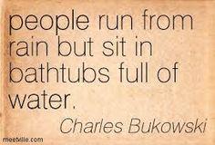 people run from rain