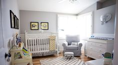 Bright and Colorful Jonathan Adler Inspired Home Beautiful and sophisticated gray and white nursery. Great inspiration for a tasteful safari themed nursery. Nursery Themes, Nursery Room, Boy Room, Kids Bedroom, Nursery Decor, Nursery Ideas, Bedroom Ideas, White Nursery, Nursery Neutral