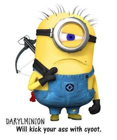 Walking Dead meets Despicable Me!