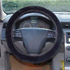 1pcs Premium Soft Short Plush Winter Car Steering Wheel Cover Vehicle Grips Skin O SHI CAR Steering-Wheel *** Posetite ssylku izobrazheniya boleye podrobnuyu informatsiyu.