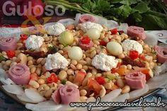 Receita de Salada de Soja