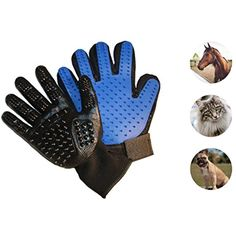 1 Pair Combing and Massage Bathing Small Pets with Long /& Short Fur Pet Hair Remover Glove for Shedding Hair Grooming Livestock Perfect for Cats Horses TUXWANG Pet Grooming Gloves Dogs