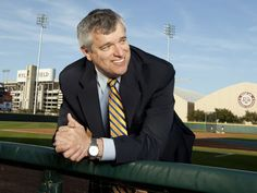 College ADs averaging more than 500k in pay. (pictured: Eric Hyman, Director of Athletics, Texas A).