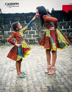 Choose from the best and beautiful matching African ankara styles for mother and daughter. These ankara styles are meant for stunning mother and daughter African Fashion Ankara, African Print Dresses, African Print Fashion, Africa Fashion, African Dress, African Prints, African Colors, Ankara Styles For Kids, Kente Styles