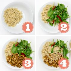 How to Make a Buddha Bowl - The Definitive Guide. (+ 20 Belly Filling Recipes) #vegan   hurrythefoodup.com