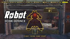 Robot Home Defence: Lets you build robots from the settlement build menu. You can tell these robots to patrol your settlements (bonus defense) or accompany you on your adventure.