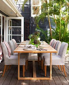 Eco Outdoor - Furniture - Dining Chairs, Stools + Benches - Amos
