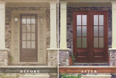 Replace Your Door And Sidelights With A Beautiful Set Of Double Doors Cofer Adams