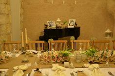 Wedding dinner at cave monestry