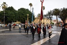 arrivo della sfilata in Piazza Roma #Oristano #Sardegna