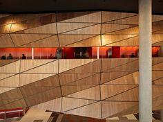 Melbourne Convention Center facade window portrait