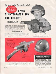Space disintegrator