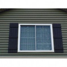 Builders Edge Builders Edge, Standard Three Board Spaced, Board-n-Batten Shutters Height: Color: Classic Blue Cafe Shutters, Modern Shutters, Exterior Vinyl Shutters, Cedar Shutters, Louvered Shutters, White Shutters, Wood Shutters, Vinyl Siding, Bermuda Shutters
