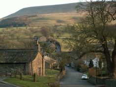 Pendle Hill, Lancashire, England - it's where my Pendleton ancesetors can be traced to